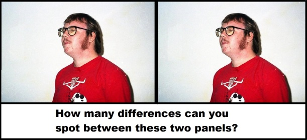 The Same Picture of Jon Konrath Every Day Differences
